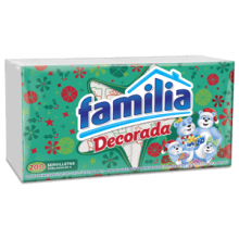 Servilleta Familia Decorada x 200