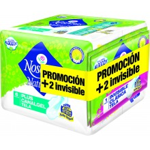 Nosotras Plus Gel x 6+2 Invisible Clasica