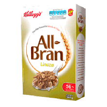 Kelloggs Cereal All Bran Linaza 340g